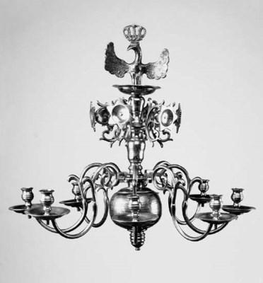 A Northern European brass eigh