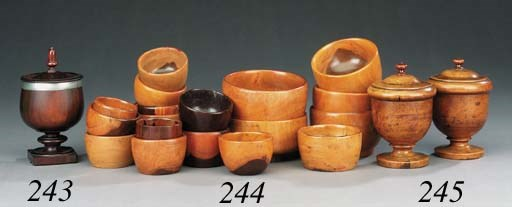 A collection of lignum vitae b