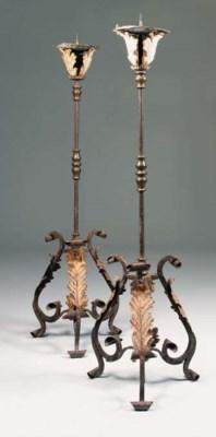A pair of North European wroug