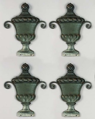 A set of four Continental gree