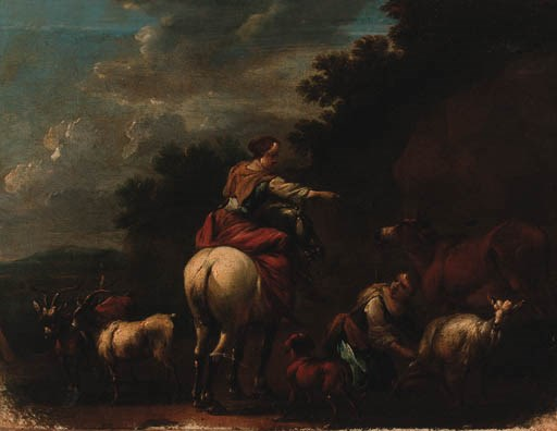 FOLLOWER OF NICOLAES BERCHEM