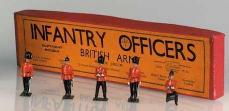 Britains rare Set 1908 Infantr