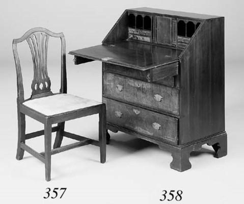 A set of six George III mahoga