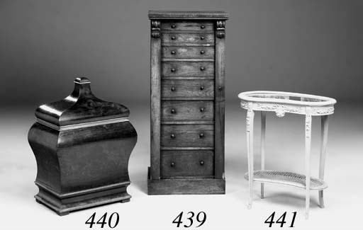 An early Victorian rosewood We