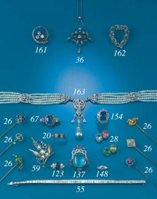 A 19th Century, diamond pendan