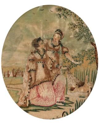 A sampler by Elizabeth Dumbrel