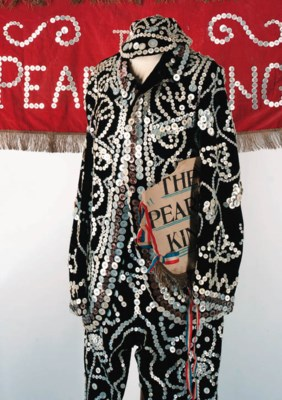 A fine Pearly King's costume,