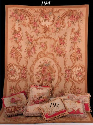 A collection of fine Aubusson