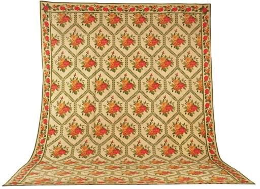 A fine Portugese flat weave ca