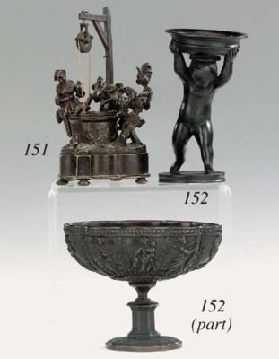 A Continental bronze erotic ch