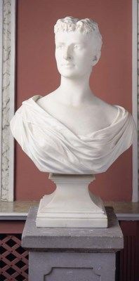 A late Victorian statuary marb