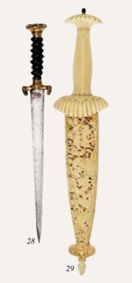 A Dagger Of Landsknecht Type