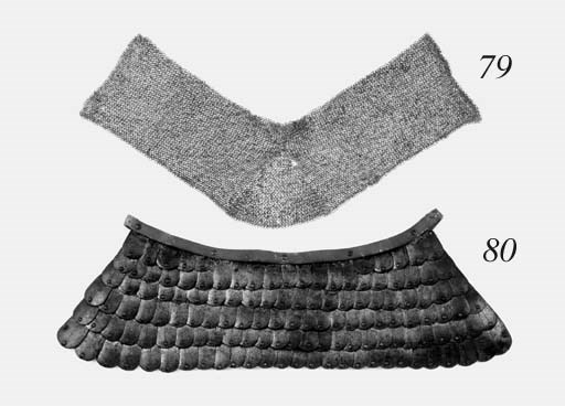 A Mail Collar And A Fragment O