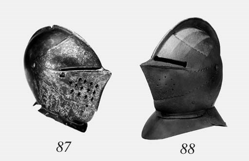 A French Close-Helmet