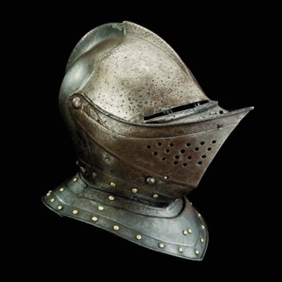 An English Close-Helmet