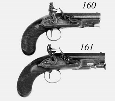 A Pair Of 30-Bore Flintlock Ov