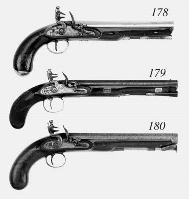 A Cased Pair of 11-Bore (Muske