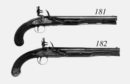 A Pair Of 26-Bore Flintlock Pi