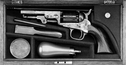 A Cased .31 Colt 1849 Model Pe