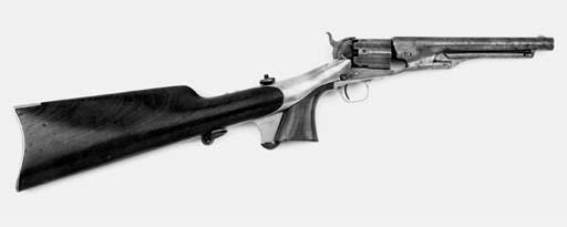 A Rare .44 Colt 1860 Model Arm