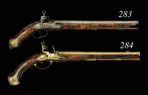 An Unusual Pair Of 28-Bore Ger