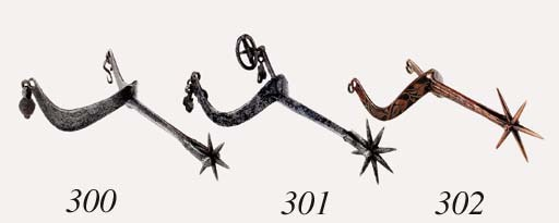A Copper-Alloy Rowel Spur