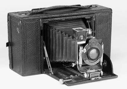Screen Focus Kodak No. 4 camer