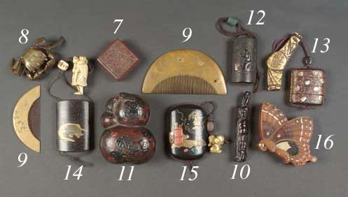 A Japanese wood box and cover