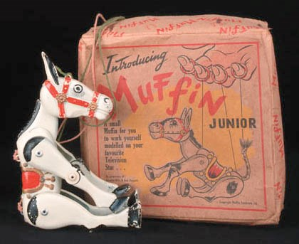 Muffin the Mule and other toys