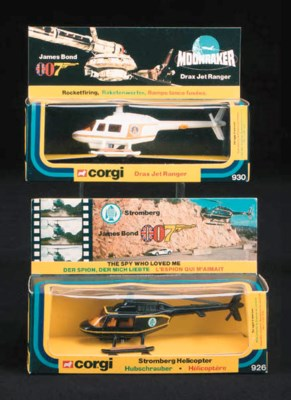 James Bond Helicopters