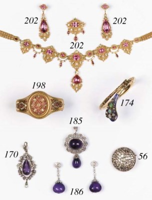 A Victorian gold, diamond and