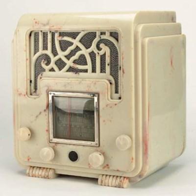 A Fisk Radiolette receiver, Mo