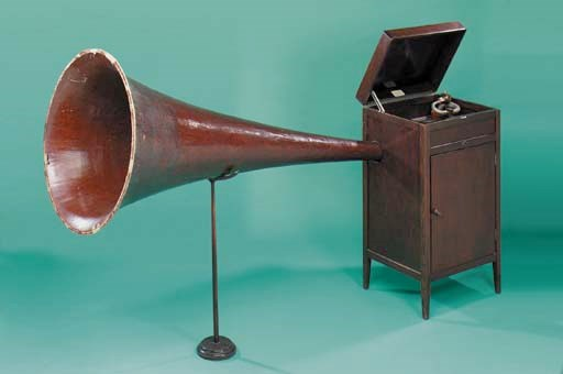 A Cascade II gramophone