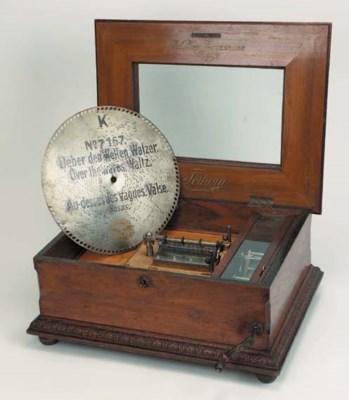 A 14½-inch Fortuna disc musica