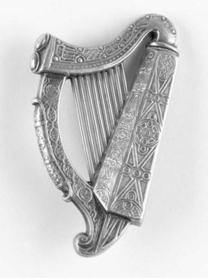 A 19th. Century silver Irish h