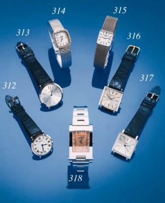 Piaget, a white gold wristwatc