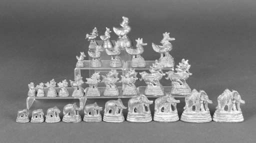 A graduating set of ten Chines