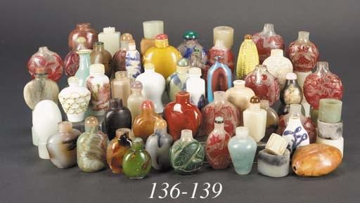Eighteen various Chinese overl