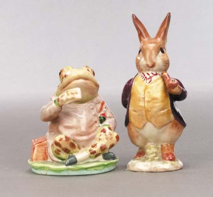 'Mr Benjamin Bunny' and 'Mr Je
