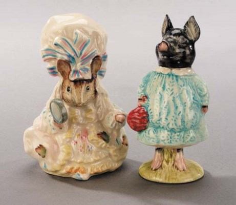 'Pig-Wig' and 'Lady Mouse'