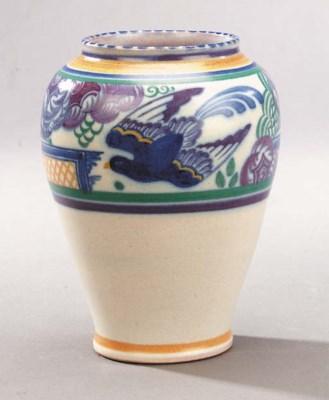 A CSA Bluebird vase