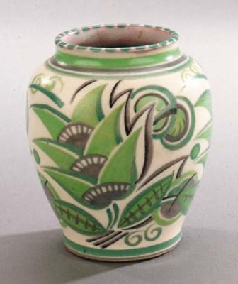 A geometric vase