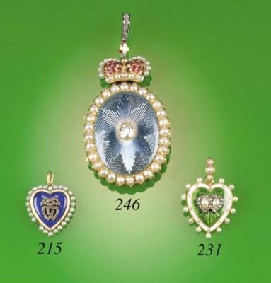 An Edwardian rose-cut diamond