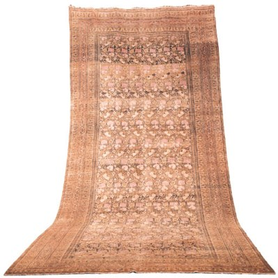 An antique Doroksh carpet