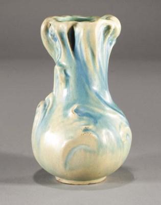 A Keller and Guerin pottery va