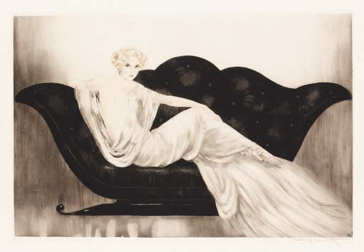 'Sofa' by Louis Icart