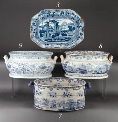 A George Gordon pottery blue a