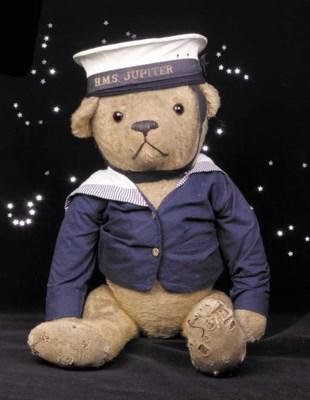 A British sailor teddy bear