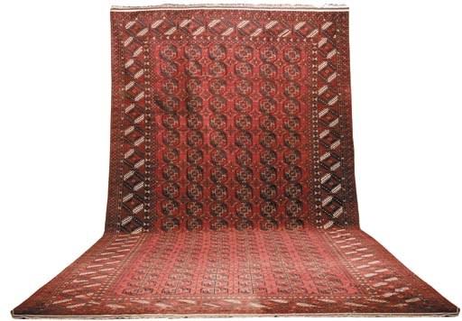 A massive Afghan carpet