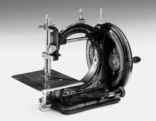 A Gresham lockstitch sewing ma